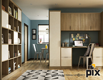 CGI Photography Home Office