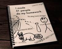 I made 51 people do my homework