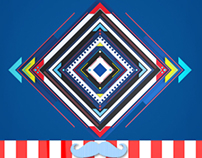 3D Geometric Logo Reveal // Videohive