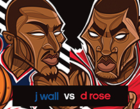 Wizards vs Bulls in Brazil