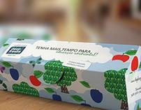 Embalagem ecológica - Mockup