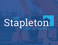MD Stapleton DEV LTD: Logo & Business Cards re-design