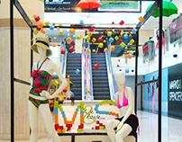 Installation for Marks & Spencer, DLF Saket.