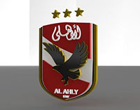 3D Logo Ahly Egypt by Ahmed Eimirat