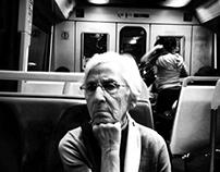 Portrait of passengers