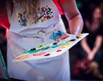 Art Combat. Live Painting Competition Fundraiser AARCS