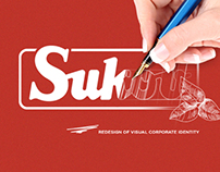 Redesign of corporate identity for SUKOV company