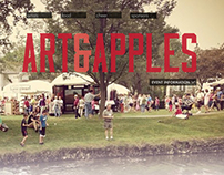 Art and Apples Festival Website Redesign