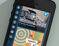 Portal das palabras, mobile first