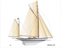 Yacht Runa IV 1918, FcH Restauration
