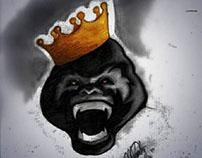 "Illustration: ""I am KING."""