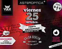 Flyer Aniversario Asteroptica *