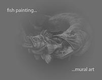 fish painting...mural art