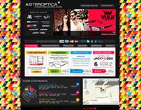Diseño Gráfico y Web para Asteroptica *