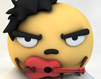 Triple Cupcake Characters