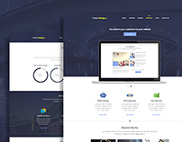 Power Energy - Modern Corporate Web Site PSD
