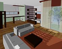 Interior design for artist residences