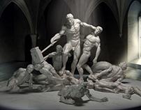 Ajax - Digital sculpt