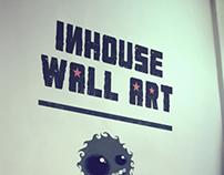 Inhouse wall art
