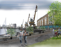 Redevelopment of disused railway and port territories