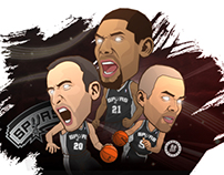 Spurs Illustrator