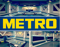 Metro C&C New UFO Themed Training Room Design