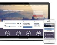 Short Loans Online: Desktop & Mobile website design