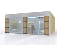 DKNY Store - 3Ds Max