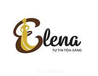 Logo thời trang Elena