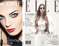 ELLE - Mock Magazine