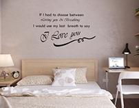 Heracleum inspiration bedroom