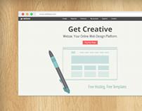 Webzai website design