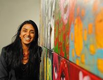 Arte y sonrisa... El Carnaval de Susana Suniaga