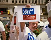 Philly Jobs Not Taxes