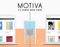 MOTIVA UX/UI Website