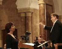 Ghada Ghanem sings Bach Wedding Cantata no 202