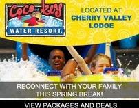 CoCo Key Water Resort Spring Break Campaign
