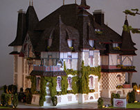 Architectural model. M 1:87