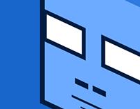Cube Head Icon