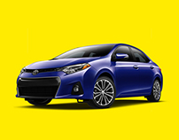 2014 Toyota Corolla Microsite + Email Campaign