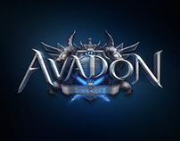GAME LOGO - Avadon