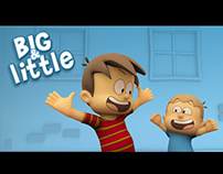 BIG & LITTLE - Art Direction