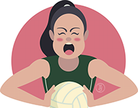 Mexican women's volleyball