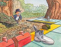 Monopoly on the Natural Bridge