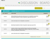 Discussion Board Designs