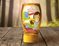 Honey Bee label