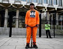 Bradley Manning Protest (US Embassy London 20/03/11)