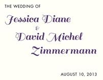 Jessica and David's Wedding