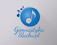 Logo / branding for Gimnastykasluchu.pl