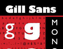 Gill Sans Typography Booklet